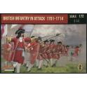 Strelets 231 - Infanterie britannique à l'attaque 1701-1714