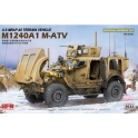 Ryefield Model 5032 Véhicule américain M-ATV M1240A1 MRAP