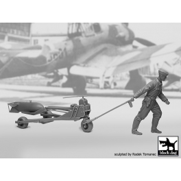 Black Dog F32086 1/32 WW II Luft.bombenpersonal +b.loader +SC250  N°1