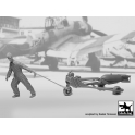 Black Dog F32087 1/32 WW II Luft.bombenpersonal +b.loader +SC250  N°2