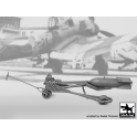 Black Dog F32089 1/32 WWII Luft.bomb loader +SC250 bomb