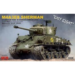 "Ryefield Model 5028 Char américain M4A3E8 Sherman ""Easy Eight"""