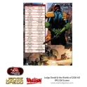 Warlord ENP2006 Judge Dredd RPG GM Screen