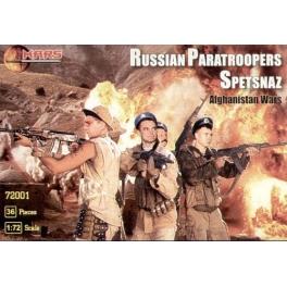 Mars 72001 Parachutistes soviétiques Spetsnaz Afghanistan (réédition)