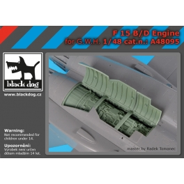 Black Dog A48095 1/48 F-15 B/D engine