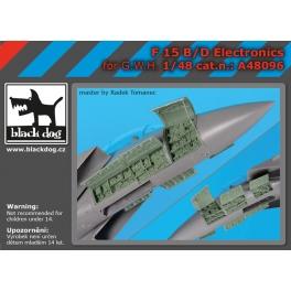 Black Dog A48096 1/48 F-15 B/D electronics