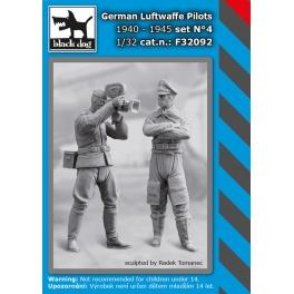 Black Dog F32092 1/32 WW II German Luftwaffe polots N°4 1940-45
