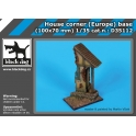 Black Dog D35112 1/35 House corner (Europe) base