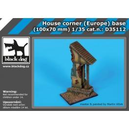 Black Dog D35112 1/35 House corner (Europe) base