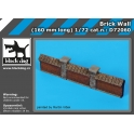 Black Dog D72060 1/72 Brick wall