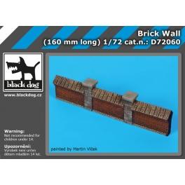 Black Dog D72060 1/72 Brick wall