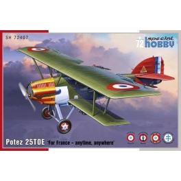 Special Hobby 72407 Potez 25 TOE
