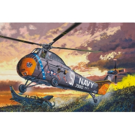 Trumpeter 02882 Hélicoptère américain Sikorsky H-34 US Navy Rescue