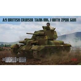 World at War 11 Char britannique A9 Mk.I avec canon de 2 pdr
