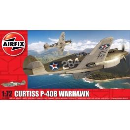Airfix AX01003B Chasseur américain Curtiss P-40B Warhawk