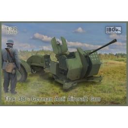 IBG 72076 Canon anti-aérien allemand Flak 38 (x2)