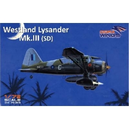 Dora Wings 72023 Avion britannique Westland Lysander Mk.III (SD)