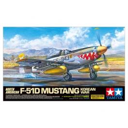 Tamiya 60328 Chasseur américain F-51D Mustang Guerre de Corée