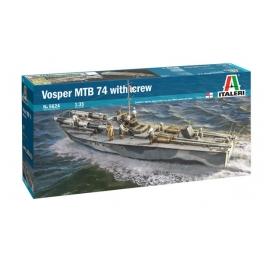 Italeri 5624 Vedette britannique Vosper MTB 74 avec équipage