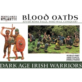 Wargames Atlantic WAABO001 Guerriers irlandais Ages sombres