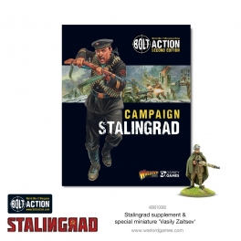 Warlord 401010016 Livre de campagne Stalingrad
