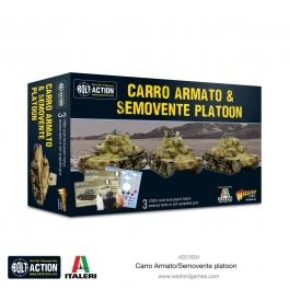 Warlord 402018004 Platoon Carro Armato M13