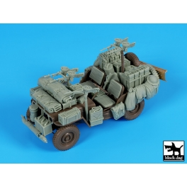 Black Dog T35224 1/35 British SAS jeep Africa accessories set