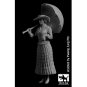 Black Dog F32093 1/32 Lady with umbrella WW I