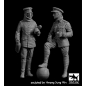Black Dog F35221 1/35 British+German soldiers Christmas truce WW I