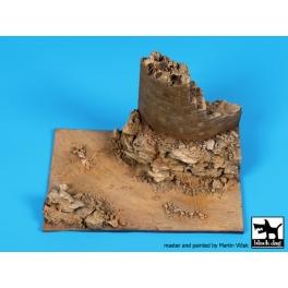 Black Dog D72061 1/72 Desert ruin base