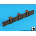 Black Dog D72062 1/72 Stone fence