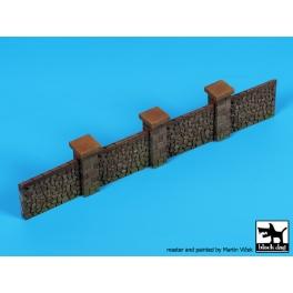 Black Dog D72062 1/72 Stone fence