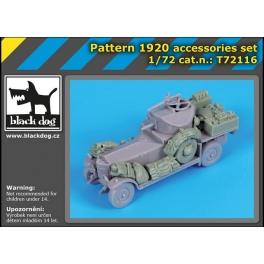 Black Dog T72116 1/72 Pattern 1920 accessories set