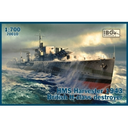 IBG 70010 Destroyer britannique Classe H HMS Harvester 1943