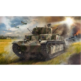 Zvezda 5064 Char lourd soviétique T-28