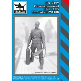 Black Dog F32100 1/32 US NAVY fireman personel 1941-45
