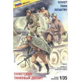 Zvezda 3544 Infanterie Sovietique
