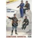 Zvezda 3504 Tankistes Sovietiques