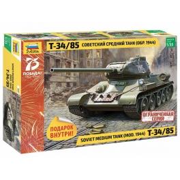 Zvezda 3687 Char Russe T-34/85