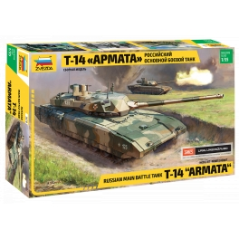 Zvezda 3670 Char Russe T-14 Armata