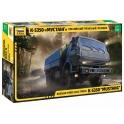 Zvezda 3697 Camion Kamaz 3 essieux