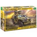 Zvezda 3682 GAZ Tiger avec Missiles Kornet