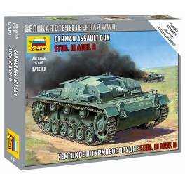 Zvezda 6155 Sturmgeschutz III Ausf.B