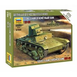 Zvezda 6165 T-26 Lance-flammes