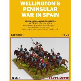 Hät 8340 Echantillon Dragons légers et lourds britanniques - Période napoléonienne