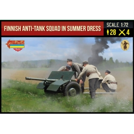 Strelets 245 Groupe anti-chars finlandais en tenue d'été