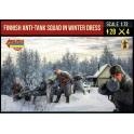 Strelets 246 Groupe anti-chars finlandais en tenue d'hiver