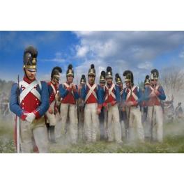Strelets 270 Fantassins bavarois au repos - Période napoléonienne