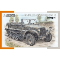 Special Armour 72021 Semi-chenillé allemand Sd.Kfz.10 (Demag D7)