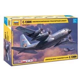 Zvezda 7321 Avion de transport américain C-130H Hercules